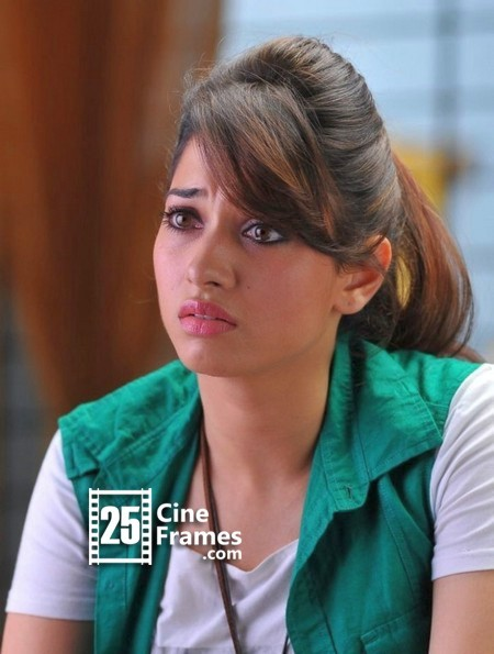 Tamanna Bhatia's Efforts Poured In Mud