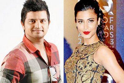 actress Shruti Haasan is heard to be dating Indian cricketer Suresh ...