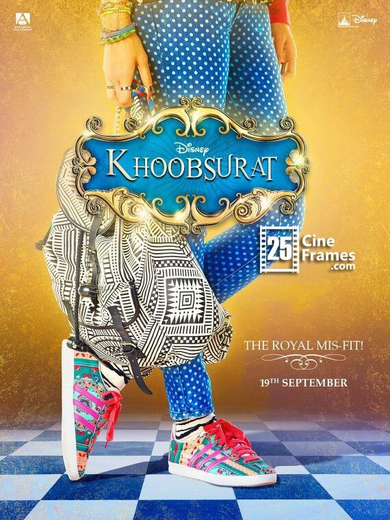 Sonam Kapoor's Khoobsurat First look