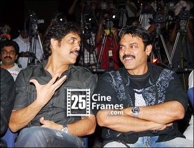 Nagarjuna and Venkatesh multistarrer film