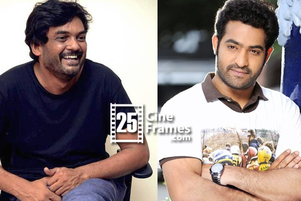 Puri shooting comedy scenes with NTR