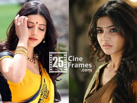 Shruti Haasan for Samantha's film