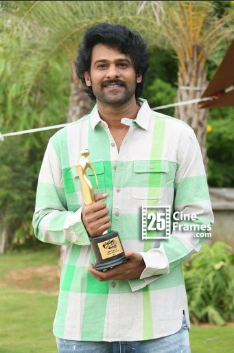 Actor Prabhas bags Most Romantic Face of Mirchi Music Awards South