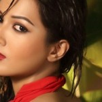 Catherine Tresa Latest Hot Spicy Photoshoot ULTRA HD Photos in Red White Violet dress