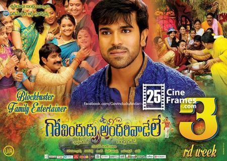 Govindudu Andarivadele Closing Business 1 Month Total Collections up to date