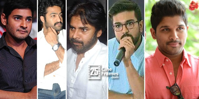 List of Tollywood Stars Donated Hudhud Relief Fund