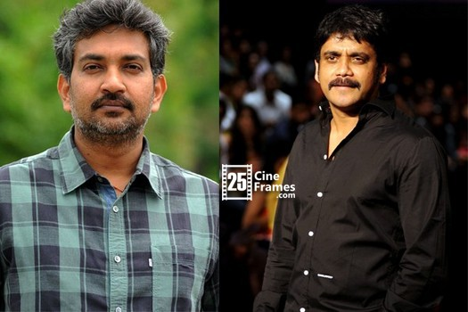 Nagarjuna talked with Rajamouli for some suggestions