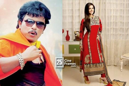 Sunny Leone is paired with Sampoornesh babu