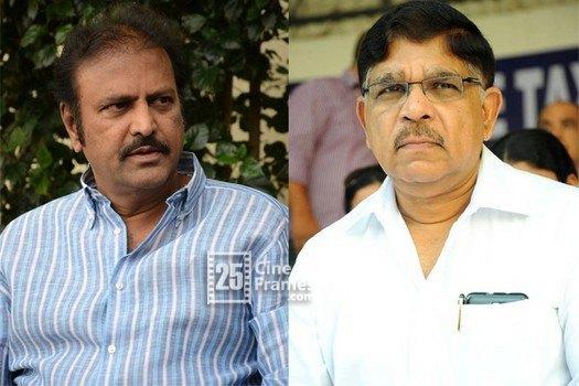 Mohan Babu made Satires on Allu Aravind