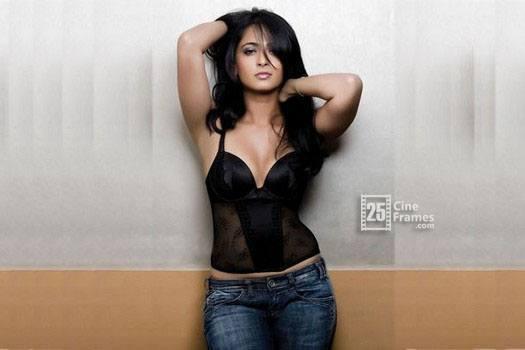 Actress Anushka Shetty in Zero Size