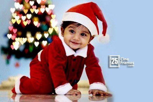 Allu Arjun's Son as Santa Claus!