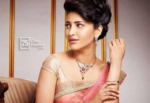 Her new movie stops Shruthi Hausan from 'Memu Saitham'