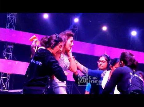 India's Raw Star Actress Gauahar Khan slapped for wearing short clothes