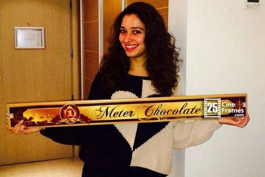 Tamanna Bhatia received a special gift from SS Rajamouli