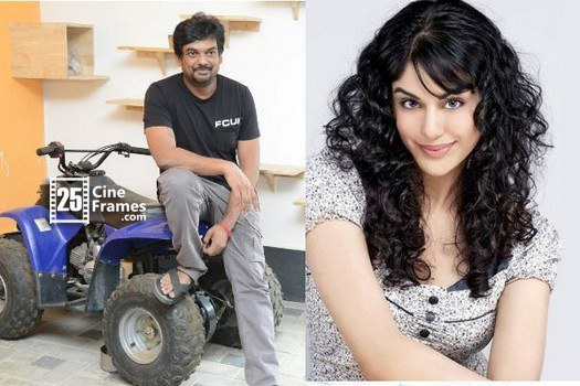Why Puri Jagannadh showing special intrest on Adh Sharma