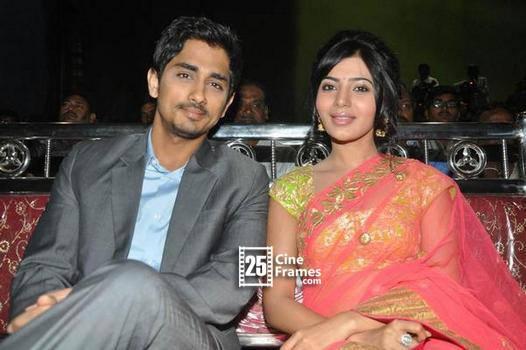 Issue break between Siddharth and Samantha