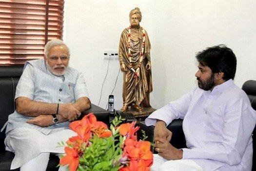 What was Modi And Pawan Kalyan's future plan
