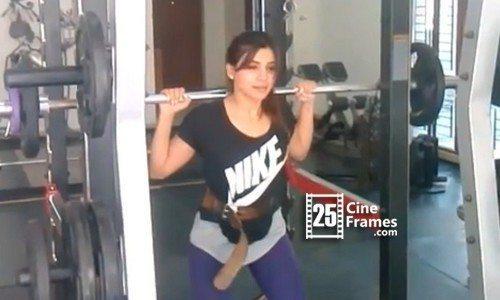 Exclusive Actress Samantha Weight Lifting Video