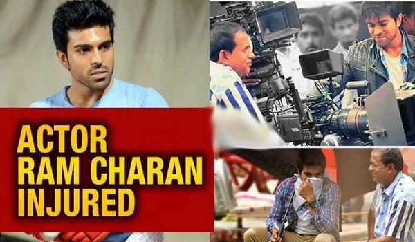 Actor Ram Charan injured
