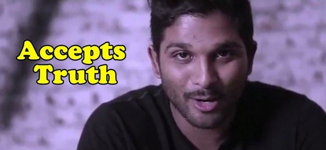Allu Arjun Accepts the Truth and made a Stylish Entry in twitter
