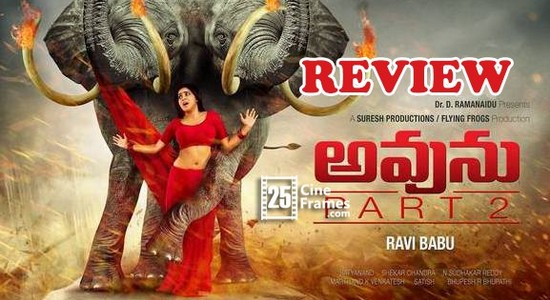 Avunu 2 Movie Review Another Interesting Thriller - Ravi Babu Poorna