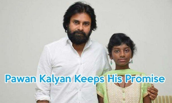 Pawan Kalyan Keeps His Promise Met His Fan Srija