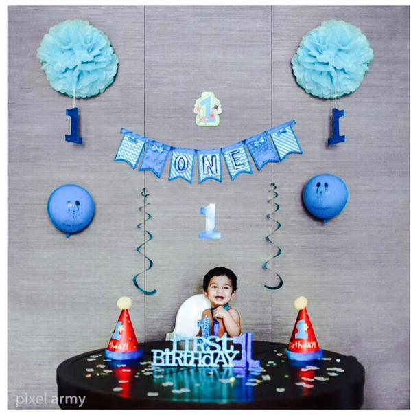 Pic Talk - Allu Arjun son Allu Ayaan 1st birthday in Singapore