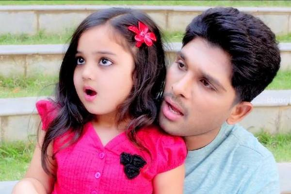 Son of Satyamurthy Little Cute Girl Baby Vernika unseen Photos Images Collection | 25CineFrames