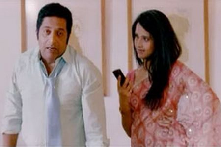 When Anchor Anasuya acted as Prakash Raj's wife