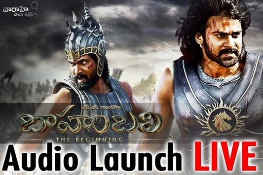 Baahubali Audio Launch Release Function Live HD Streaming Video