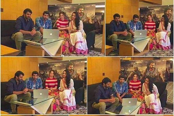 Baahubali Team Questions Answers to Fans Prabhas Rana Tamanna Anushka