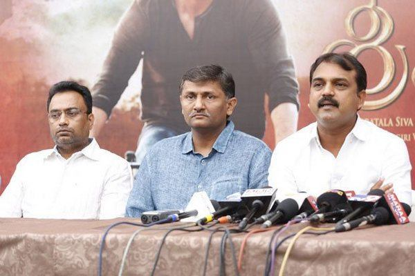 Baahubali movie makers made a request to us says Koratala Siva