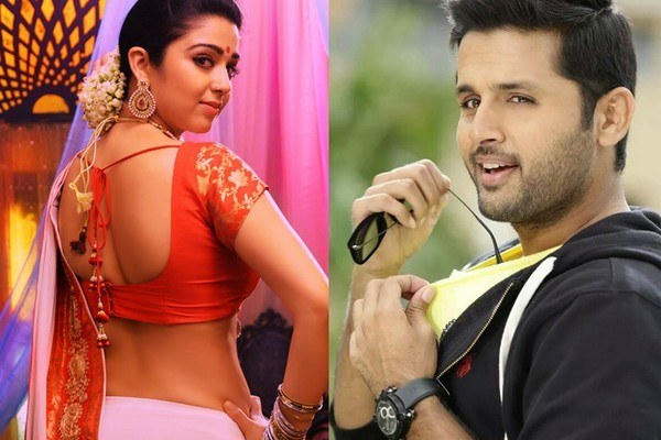 Charmi Comments To Hero Nithin's Publicly