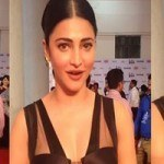 Shruti Haasan at 62nd South Filmfare Awards 2015 HD Photos Gallery