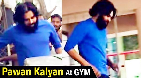 Watch It Power Star Pawan Kalyan Latest Gym Video Leaked