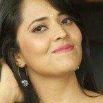 Anchor Anasuya Bharadwaj Latest Pink Blue Saree HD Photos, Stills, Gallery, Images