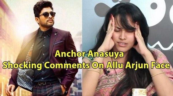 Anchor Anasuya Shocking Comments On Hero Allu Arjun Stylish Star Face