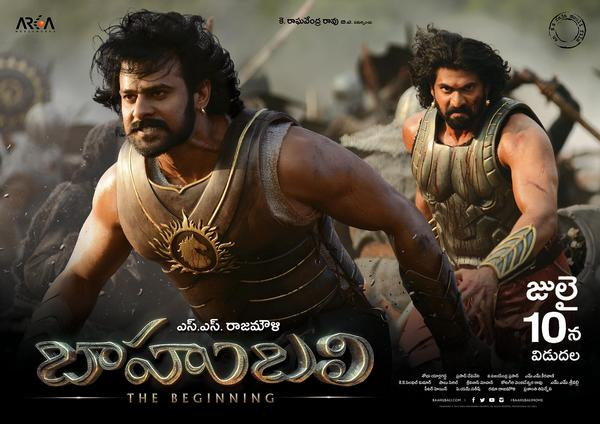 Baahubali - The Beginning Advance Ticket Booking Starts from 3rd July 2015