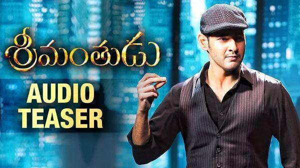Mahesh Babu Srimanthudu Audio Release Teaser Video