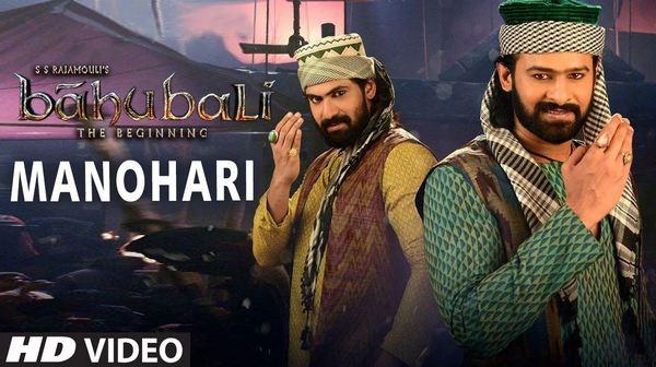 Manohari Full HD 1080P Video Song Baahubali Movie
