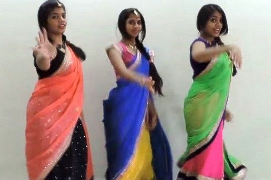 Must Watch Three Girls Performance for Baahubali Songs a Mime through 'BAAHUBALI'