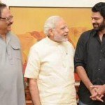 Pic Talk Narendra Modi Met 'Baahubali' Prabhas Telugu Actor Urges PM to Watch Baahubali1