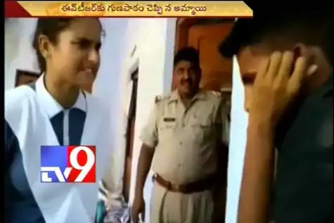 School GIRL Bravely Shows HELL For Eve-Teasing Guy In Police Station. He Will Never Forget In His Life