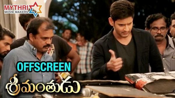 Offscreen Srimanthudu Movie Making HD Video