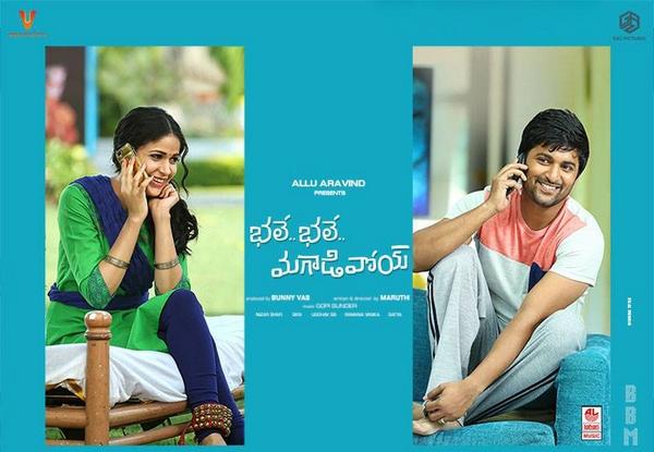 Bhale Bhale Magadivoy Movie HD Wallpapers Posters Nani, Lavanya Tripathi U V Creations, Geetha Arts