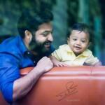 Jr NTR Lakshmi Pranathi Son Abhay Ram Latest New HD Photos Images