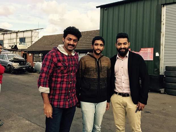 Mahesh Babu's Cousin Brother Ghattamaneni Ratna Babu With Nandamuri Brothers - Jr NTR and Kalyan Ram