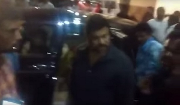 Just Leak Chiranjeevi calling his Fans as Stupid as Fellows