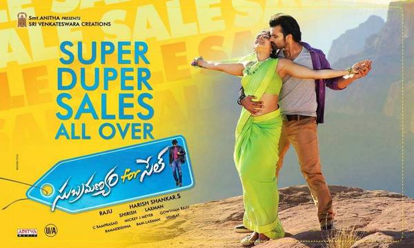 Subramanyam For Sale 1st Week collections Sai Dharam Tej Regina Cassandra