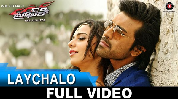 Bruce Lee - The Fighter Telugu Movie Laychalo - Full Video Song 1080P Ram Charan - Rakul Preet Singh